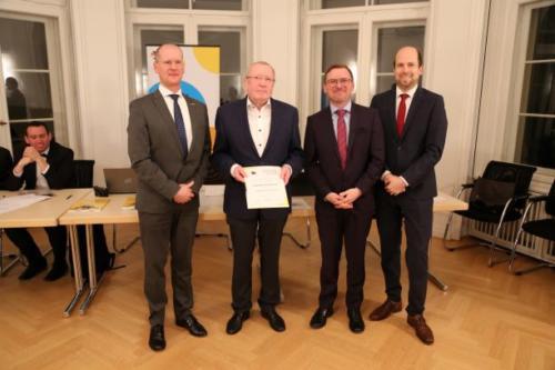 Ehrung Prof. Dr. Rolf Zawar zum Ehrenmitglied